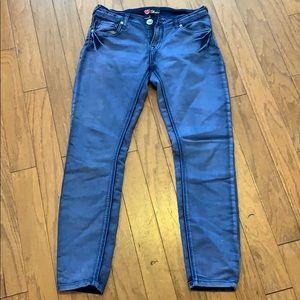 BeBe royal blue jeggings size 29